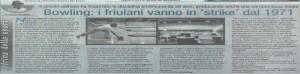 BOWLING71 - Rassegna Stampa 2