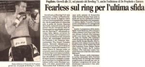 BOWLING71 - Rassegna Stampa 4