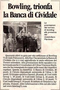 BOWLING71 - Rassegna Stampa 6