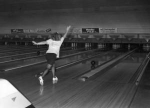 Coletta Marcuzzo al Bowling 71, campionessa d'Europa nel 1985