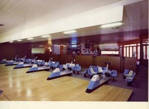 Le 12 piste del Bowling 71 poco dopo l'apertura