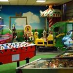 La sala giochi per bambini