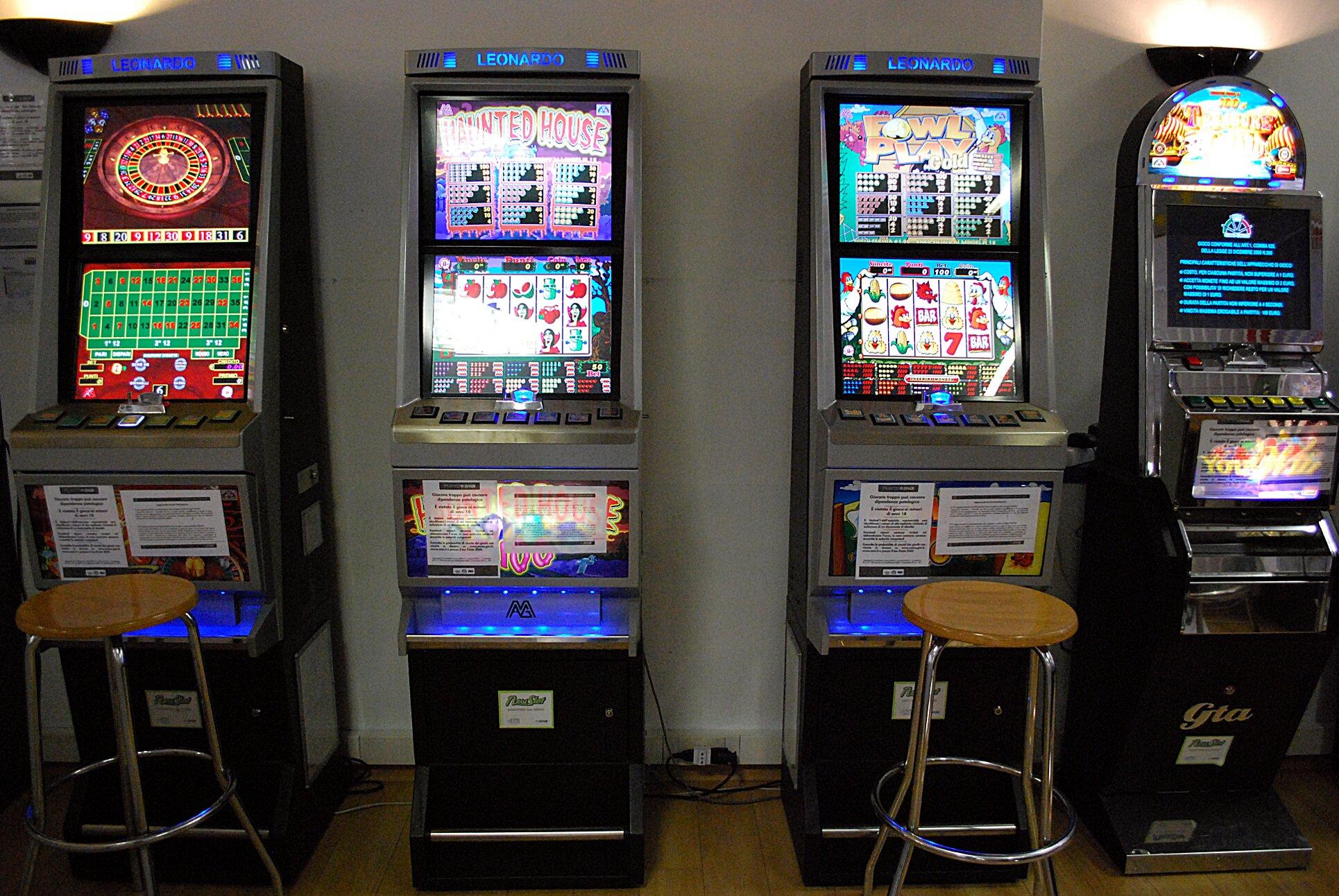 Quali permessi ci vogilono per sala giochi con slot machine